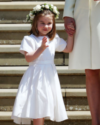"How Princess Charlotte Took Charge of the Other Kids at the Royal Wedding: ""No, You Can't Go Yet!"""