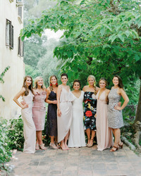 Here's How to Include Friends and Family Members Who Aren't in the Bridal Party in Your Wedding Day