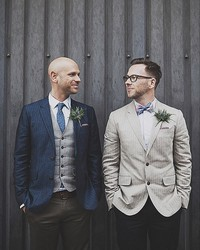 8 Tips for Suiting Up for a Same-Sex Wedding