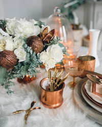 22 Winter Wedding Color Palettes That Aren't Just Red and Green