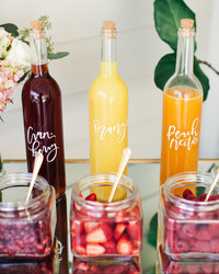 Genius Ways to Serve Cocktails at Your Bridal Shower