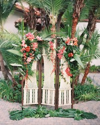 A Wedding Trend We're Loving: Macramé Decorations