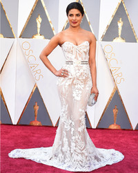 Priyanka Chopra Just Revealed a Hint About Her Wedding Dress