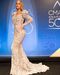 10 Times Beyoncé Wore Wedding Dresses Just Because
