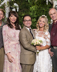 The Big Bang Theory's Wedding Photos Will Warm Your Heart