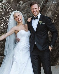 Julianne Hough's Stylist & Wedding Dress Designers Dish on Her Two Stunning Looks