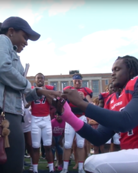Watch: These College Football Players Teamed Up On One Epic Proposal
