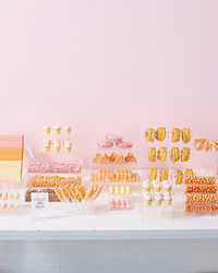 This DIY Candy Bar Buffet Is What Wedding Dessert Dreams Are Made of