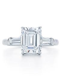 Elegant Emerald-Cut Engagement Rings