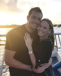 Professional Athletes Caroline Wozniacki and David Lee Are Engaged!