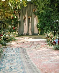 14 Beautiful Ways to Elevate Your Ceremony Aisle