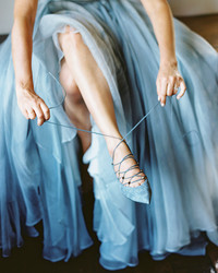 """Our Favorite """"Something Blue"""" Wedding Shoes"""