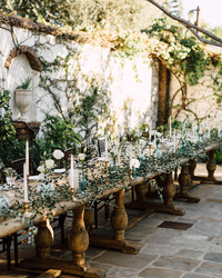 28 of the Prettiest Rustic Wedding Centerpieces