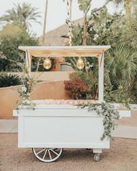 28 Unique Ways to Display Your Wedding Favors
