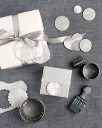 An Easy DIY: Marbleized Clay Gift Tags