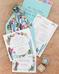 36 Destination Wedding Invitations from Real Weddings