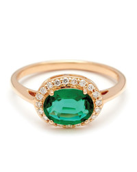 Emerald Engagement Rings for a One-of-a-Kind Bride