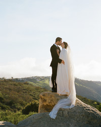 A Mountaintop Elopement in Laguna Beach, California