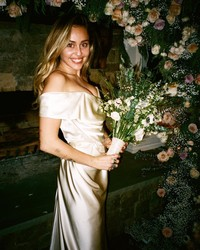 Miley Cyrus Reveals Never-Before-Seen Wedding Photos in Honor of Valentine's Day