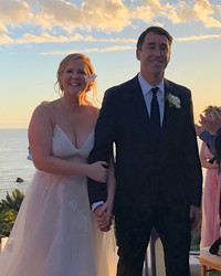 Amy Schumer Invited Guests to Her Surprise Wedding with Text Messages