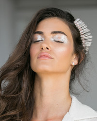 3 Ways to Wear Metallic Makeup on Your Wedding Day