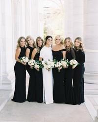 Chic Black Bridesmaid Dresses