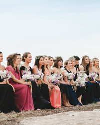 Should Our Wedding Party Sit or Stand During the Ceremony?