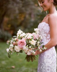 What Should the Bride Do with Her Wedding Bouquet During the Ceremony?