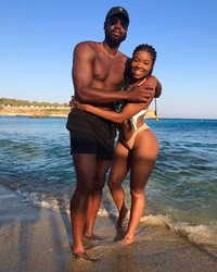 Gabrielle Union and Dwyane Wade Are in Mykonos for Their Third Anniversary