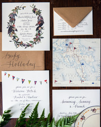 Nautical Wedding Invitations Perfect for an Oceanside Celebration