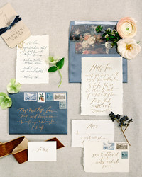Trending Now: Deckle-Edge Wedding Invitations