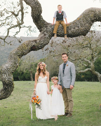 Carlie and Gabe's Intimate Vow Renewal in California