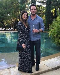 Katherine Schwarzenegger Wore a Custom Armani Dress for Her Wedding to Chris Pratt