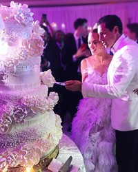 Wait Until You See Maks and Peta's Amazing Wedding Cake