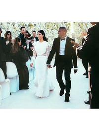Kim Kardashian West Shares Wedding Throwback Photos in Honor of Her Third Anniversary