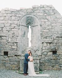 An Elopement-Style Wedding on a Small Irish Island