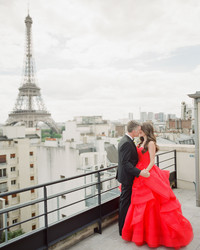 A Glamorous Destination Wedding in Paris