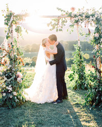 This Couple Personalized Every Element of Their Virginia Wedding