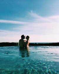 Kelsea Ballerini and Morgans Evans Just Shared Photos from Their Honeymoon
