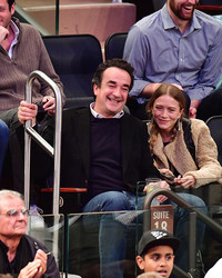 "Carla Bruni Says Brother-in-Law Olivier Sarkozy and Mary-Kate Olsen ""Seem So Happy"""