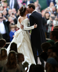 Zac Posen Releases a Never-Before-Seen Photo of Princess Eugenie's Second Wedding Dress
