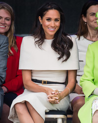 How Meghan Markle's Wedding Dress Inspired Her Style for Her Girls' Trip with the Queen!