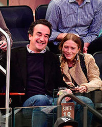 Mary-Kate and Ashley Olsen Just Double Dated at a Basketball Game
