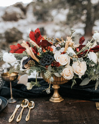 Winter Wedding Centerpieces That Nod to the Season