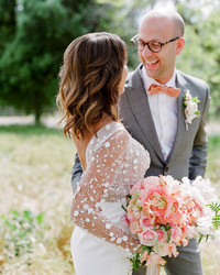 Why Your Wedding Photographer Really Wants You to Think About Having a First Look