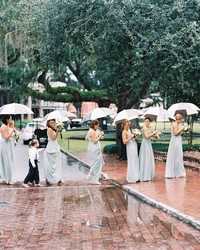 4 Reasons Why It's Not Worth Stressing About the Weather Ahead of Your Wedding