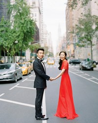 A Bold, Autumnal Wedding in NYC