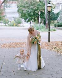The Prettiest Fall Flower Girl Dresses
