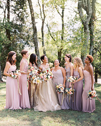 What Your Bridesmaids' Dresses Say About You