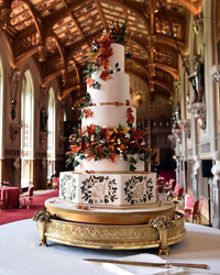Princess Eugenie's Wedding Cake Is the Ultimate Nod to Fall